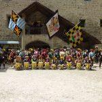 So wie hier in Burghausen ist der Fanfarenzug Neuburg auch in diesem Jahr wieder auf vielen historischen Festen vertreten.
