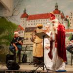 Der Nikolaus zu Gast bei uns